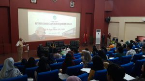 Selenggarakan Kuliah Umum, Bagian HTN Hadirkan Prof. Bagir Manan