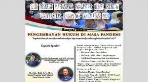 Diskusi Mahasiswa Magister Ilmu Hukum Unila Angkatan 2020