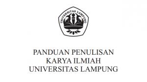 Panduan Penulisan Karya Ilmiah Universitas Lampung